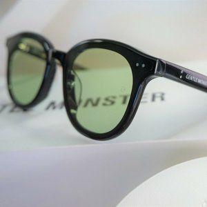 Gentle Monster Sunglasses LANG 01(K) in Green lens